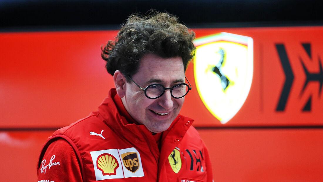 Mattia Binotto - Ferrari - F1-Test - Barcelona - 19. Februar 2020