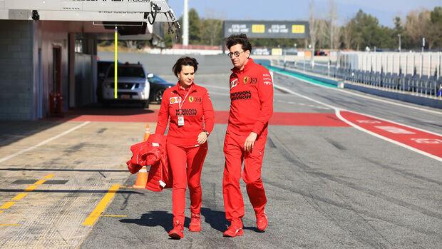 Mattia Binotto - Ferrari - F1-Test - Barcelona - 21. Februar 2020