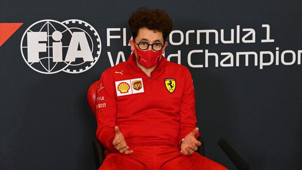 Mattia Binotto - Ferrari - Formel 1