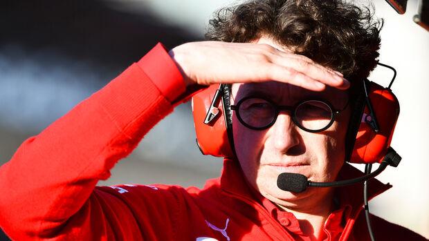 Mattia Binotto - Ferrari - Formel 1 2019