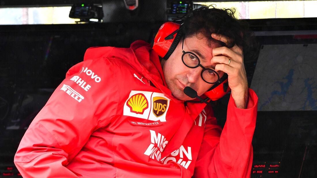 Mattia Binotto - Ferrari - Formel 1 - GP Brasilien - Sao Paulo - 15. November 2019