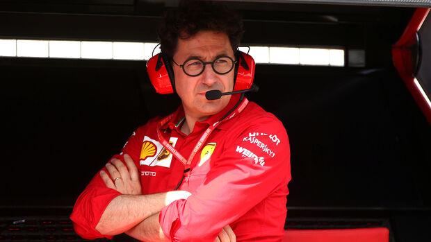 Mattia Binotto - Ferrari - Formel 1 - GP Deutschland - Hockenheim 2019