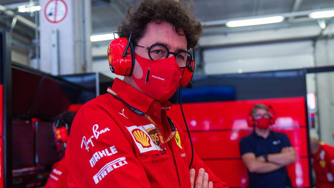 Mattia Binotto - Ferrari - Formel 1 - GP Österreich - 4. Juli 2020