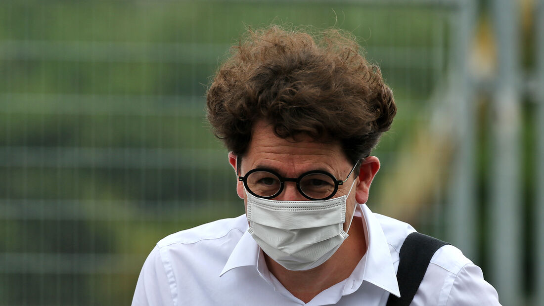 Mattia Binotto - Ferrari - Formel 1 - GP Ungarn - Budapest - 16. Juli 2020