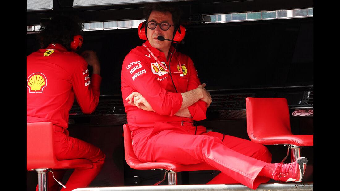 Mattia Binotto - Ferrari - GP Deutschland 2019 - Hockenheim - Qualifying