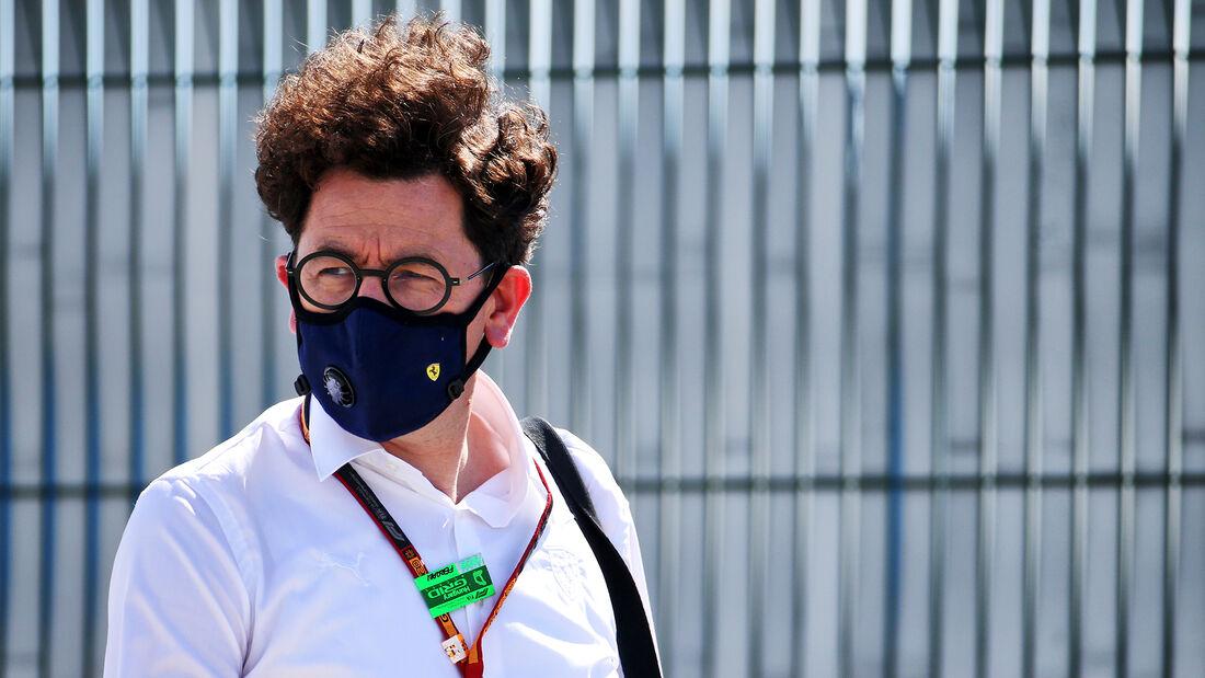 Mattia Binotto - Ferrari - GP England  - Silverstone - 30. Juli 2020