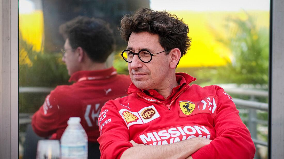 Mattia Binotto - Ferrari - GP Mexiko 2019
