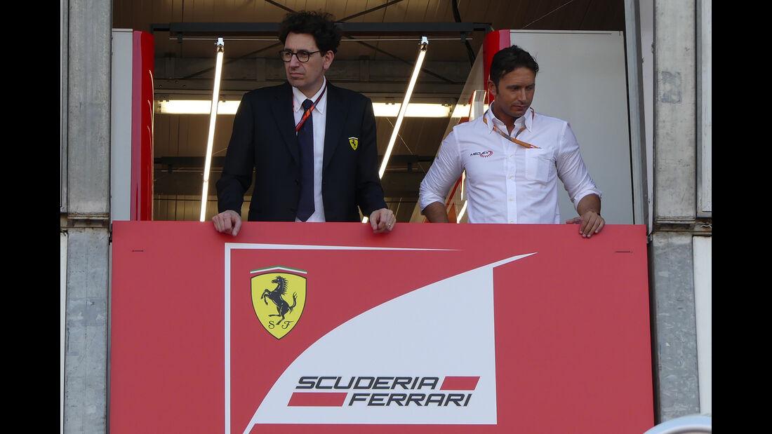Mattia Binotto - Ferrari - GP Monaco - Formel 1 - 24. Mai 2017