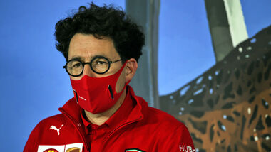 Mattia Binotto - Ferrari - GP Österreich 2020