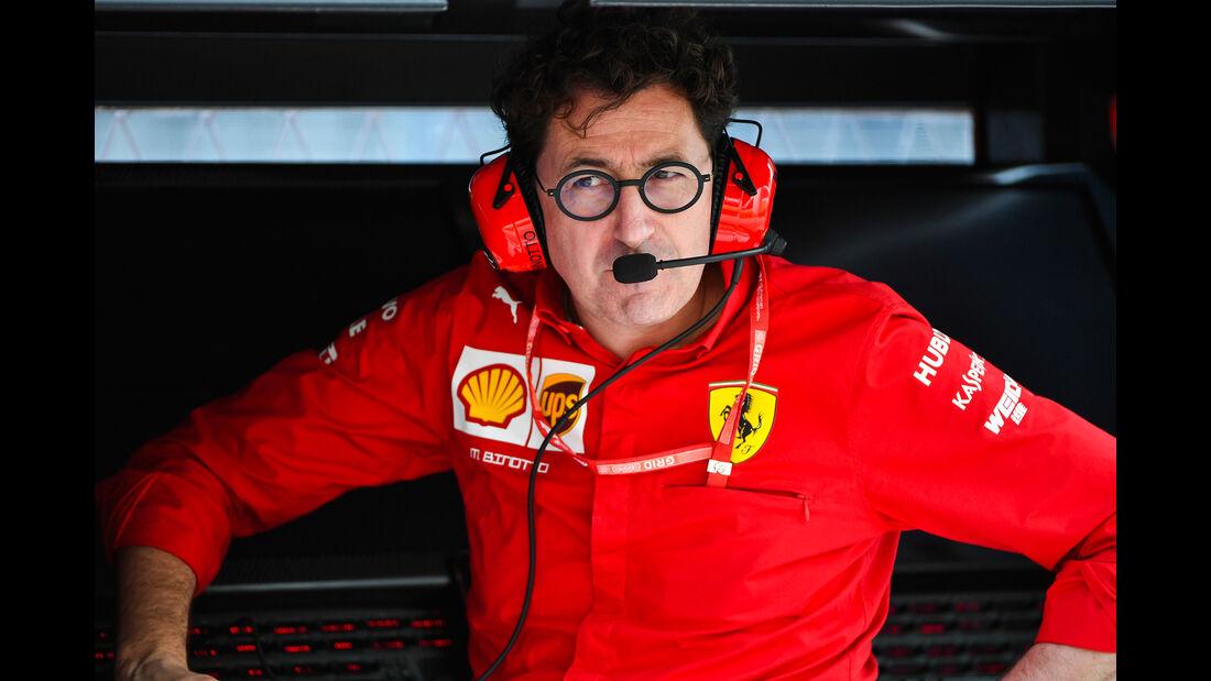 Mattia Binotto - Ferrari - GP Russland - Sotschi - Formel 1 - Freitag - 27.9.2019