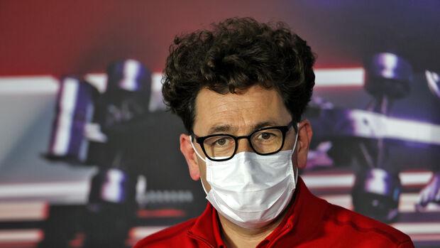 Mattia Binotto - Ferrari - GP Ungarn 2021 - Budapest