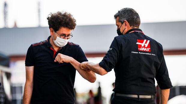 Mattia Binotto & Guenther Steiner - GP Russland 2020