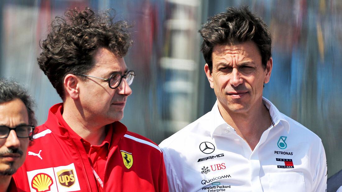 Mattia Binotto & Toto Wolff - Formel 1 - 2019