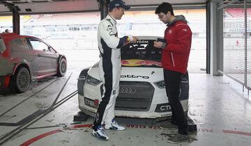 Mattias Ekström, Audi S1 Rallycross, Saison 2016, Test in Hockenheim