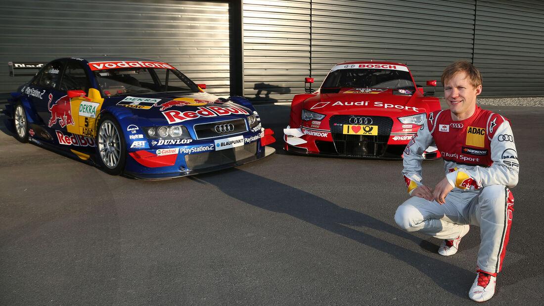 Mattias Ekström - DTM Audi A4 (2004) vs. RS5 (2015)