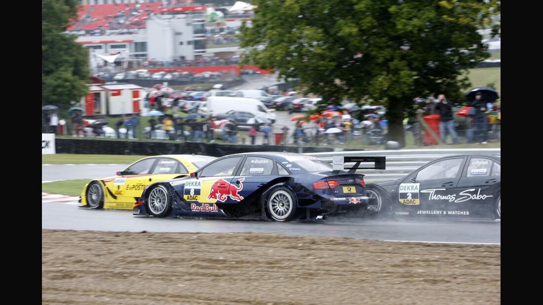 Mattias Ekström DTM Brands Hatch 2011
