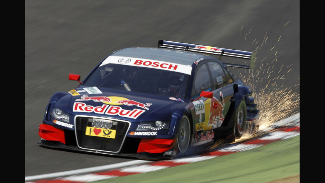 Mattias Ekström DTM Brands Hatch 2011