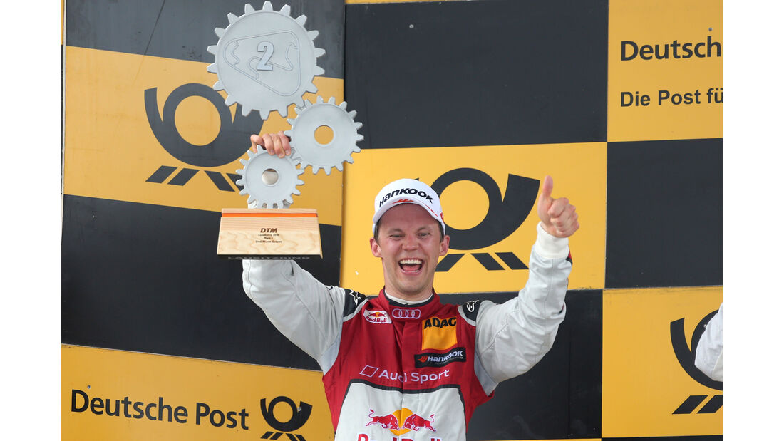 Mattias Ekström - DTM Lausitzring 2016