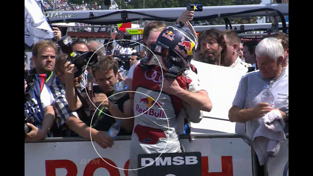 Mattias Ekström - DTM Norisring 2013 - Video Screenshot