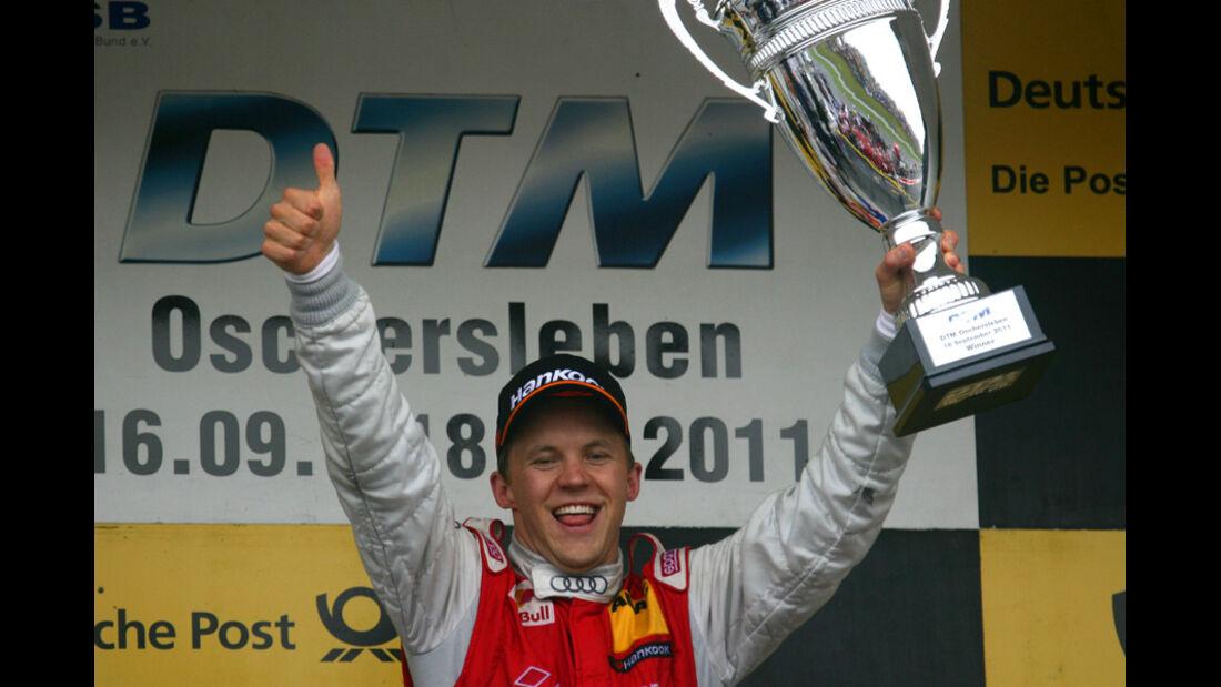 Mattias Ekström DTM Oschersleben 2011