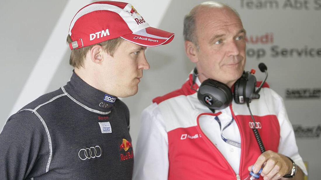 Mattias Ekström Wolfgang Ullrich