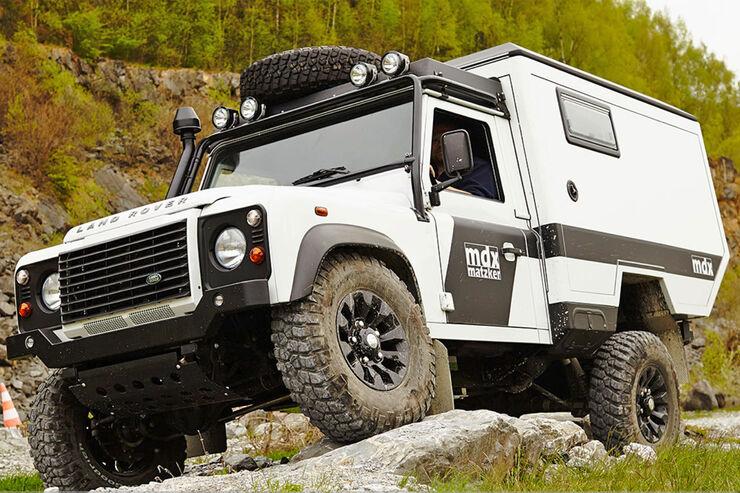 Matzker Land Rover Defender Mdx Der Defender F 252 R Ganz