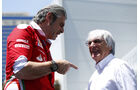 Maurizio Arrivabene & Bernie Ecclestone - Formel 1 - GP Aserbaidschan - Baku - 16. Juni 2016