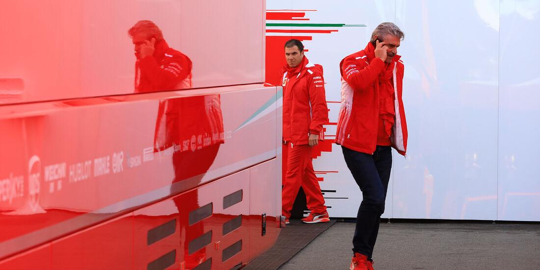 Maurizio Arrivabene - Ferrari - F1-Test - Barcelona - Tag 6 - 7. März 2018