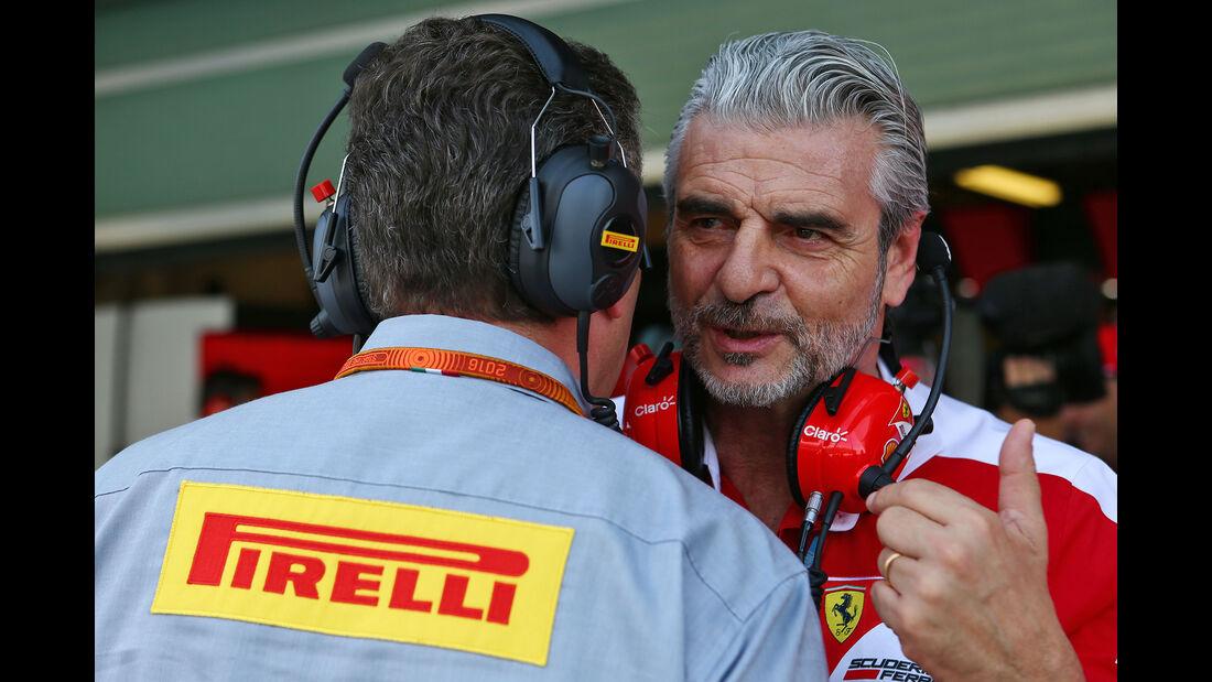 Maurizio Arrivabene - Ferrari - Formel 1 - GP Abu Dhabi - 25. November 2016