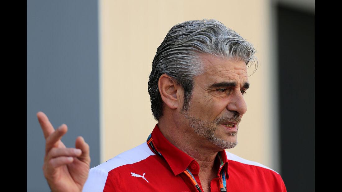 Maurizio Arrivabene - Ferrari - Formel 1 - GP Abu Dhabi - 27. November 2015