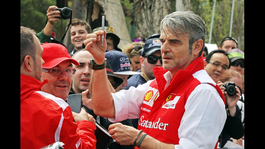 Maurizio Arrivabene - Ferrari - Formel 1 - GP Australien - 12. März 2015