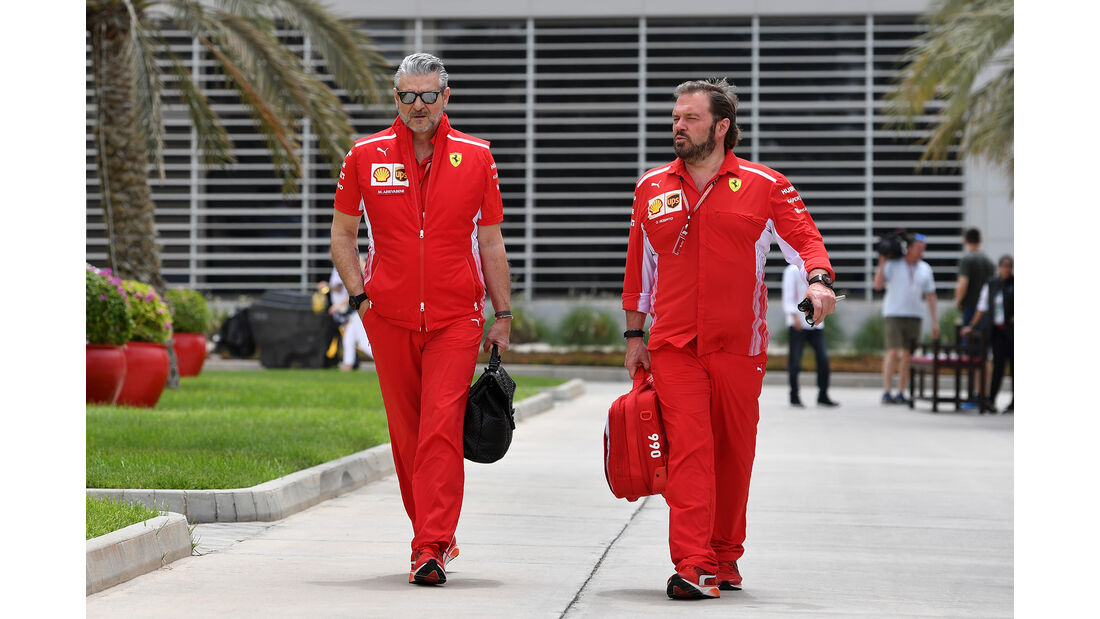 Maurizio Arrivabene - Ferrari - Formel 1 - GP Bahrain - 5. April 2018