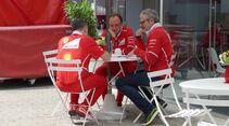 Maurizio Arrivabene - Ferrari - Formel 1 - GP Brasilien - 8. November 2017