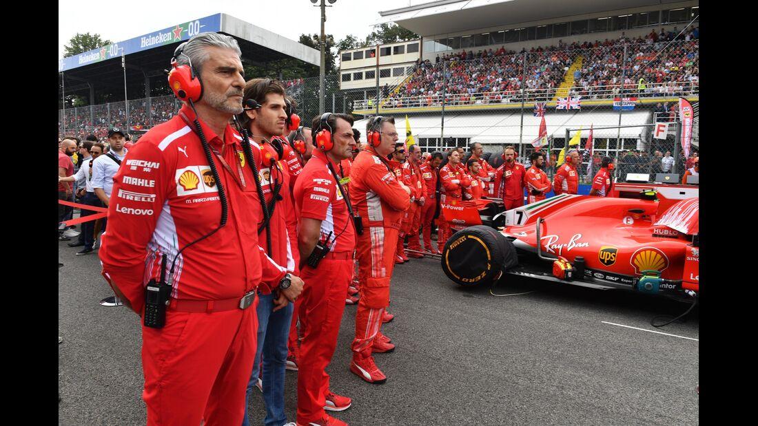 Maurizio Arrivabene - Ferrari - Formel 1 - GP Italien - 02. September 2018