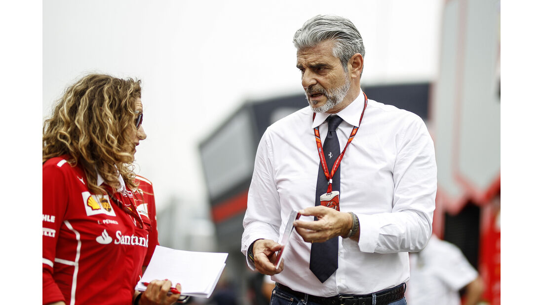Maurizio Arrivabene - Ferrari - Formel 1 - GP Italien - Monza - 31. August 2017