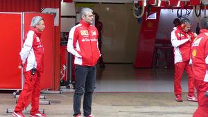 Maurizio Arrivabene - Ferrari - Formel 1-Test - Barcelona - 1. März 2015