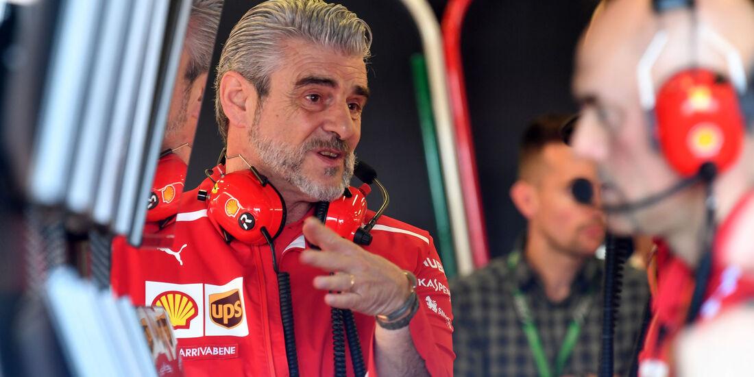 Maurizio Arrivabene - Ferrari - GP Australien 2018 - Melbourne - Albert Park - Freitag - 23.3.2018