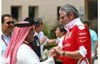 Maurizio Arrivabene - Ferrari - GP Bahrain - Formel 1 - 1. April 2016