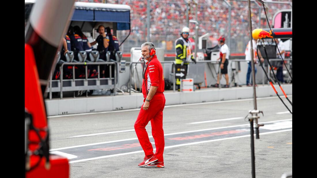 Maurizio Arrivabene - Ferrari - GP Deutschland 2018 - Rennen