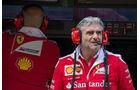 Maurizio Arrivabene - Ferrari - GP England - Silverstone - Formel 1 - Freitag - 8.7.2016