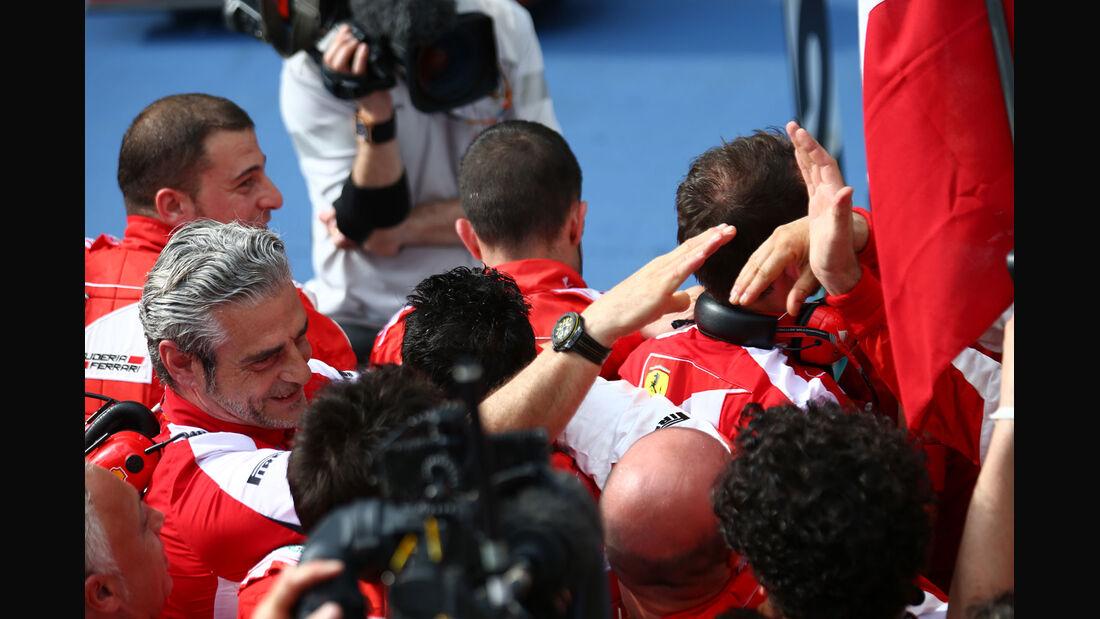 Maurizio Arrivabene - Ferrari - GP Malaysia 2015 - Formel 1