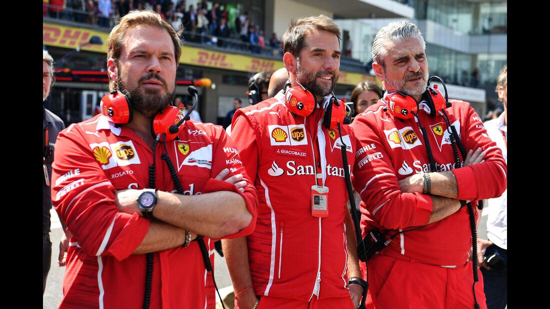 Maurizio Arrivabene - Ferrari - GP Mexiko 2017 - Qualifying