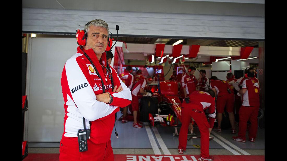 Maurizio Arrivabene - Ferrari - GP Russland - Sochi - Freitag - 9.10.2015