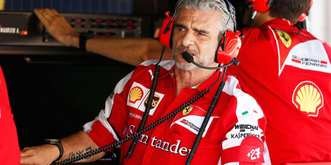 Maurizio Arrivabene - Ferrari - GP Spanien - Qualifying - Samstag - 9.5.2015