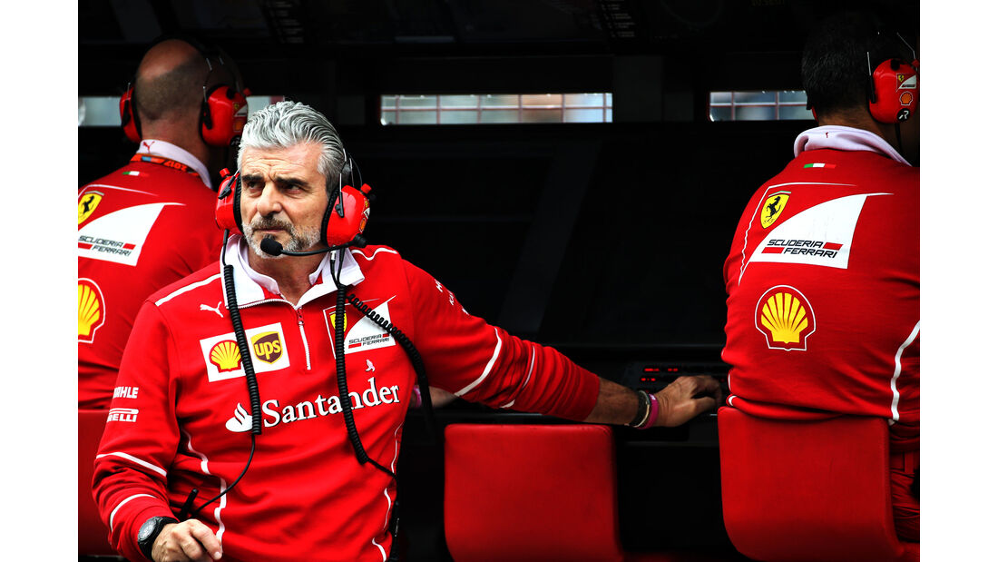 Maurizio Arrivabene - Ferrari - GP USA - Austin - Formel 1 - Freitag - 20.10.2017