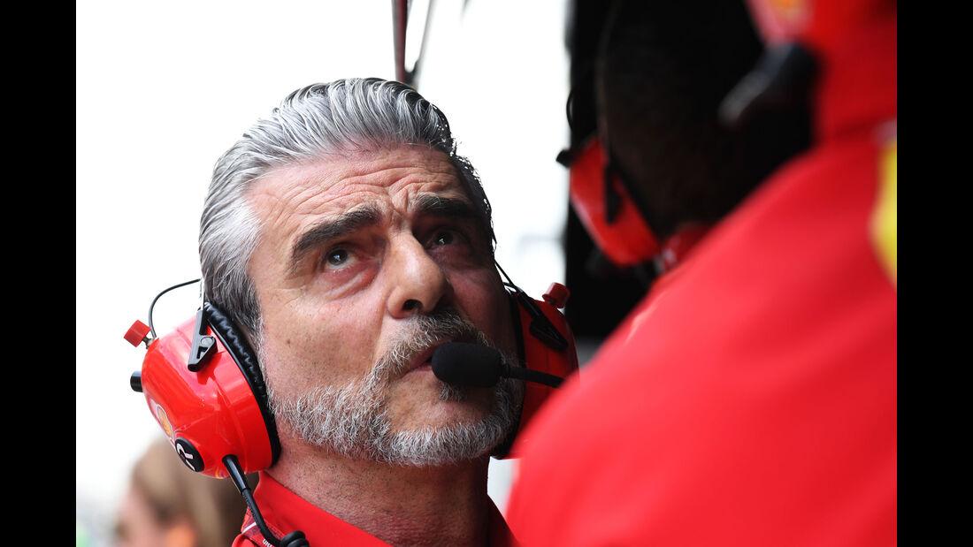 Maurizio Arrivabene - Ferrari - Qualifying - GP Australien 2018 - Melbourne