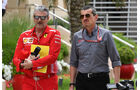 Maurizio Arrivabene & Günther Steiner - Formel 1 - GP Bahrain - Training - 6. April 2018