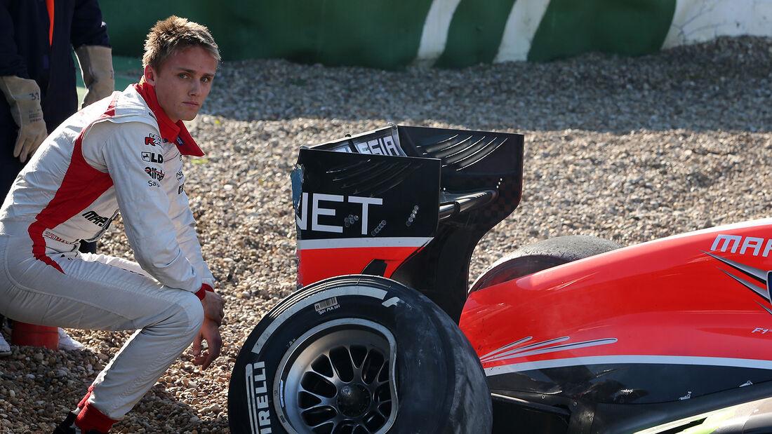 Max Chilton - F1-Test Jerez 2013