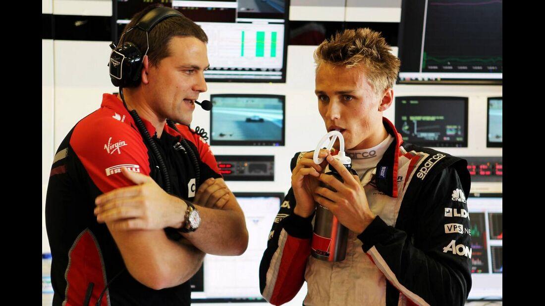 Max Chilton - Formel 1 - GP Abu Dhabi - 01. November 2012