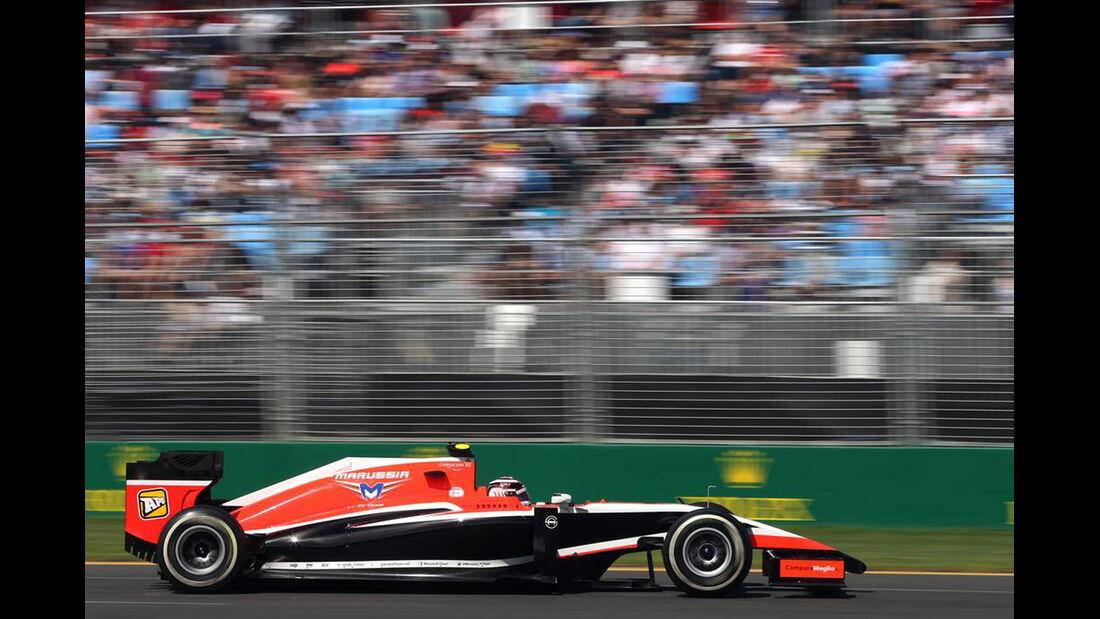 Max Chilton  - Formel 1 - GP Australien - 15. März 2014